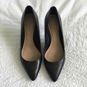 Black Pumps, size 9 - Aldo (Kediredda Heel)